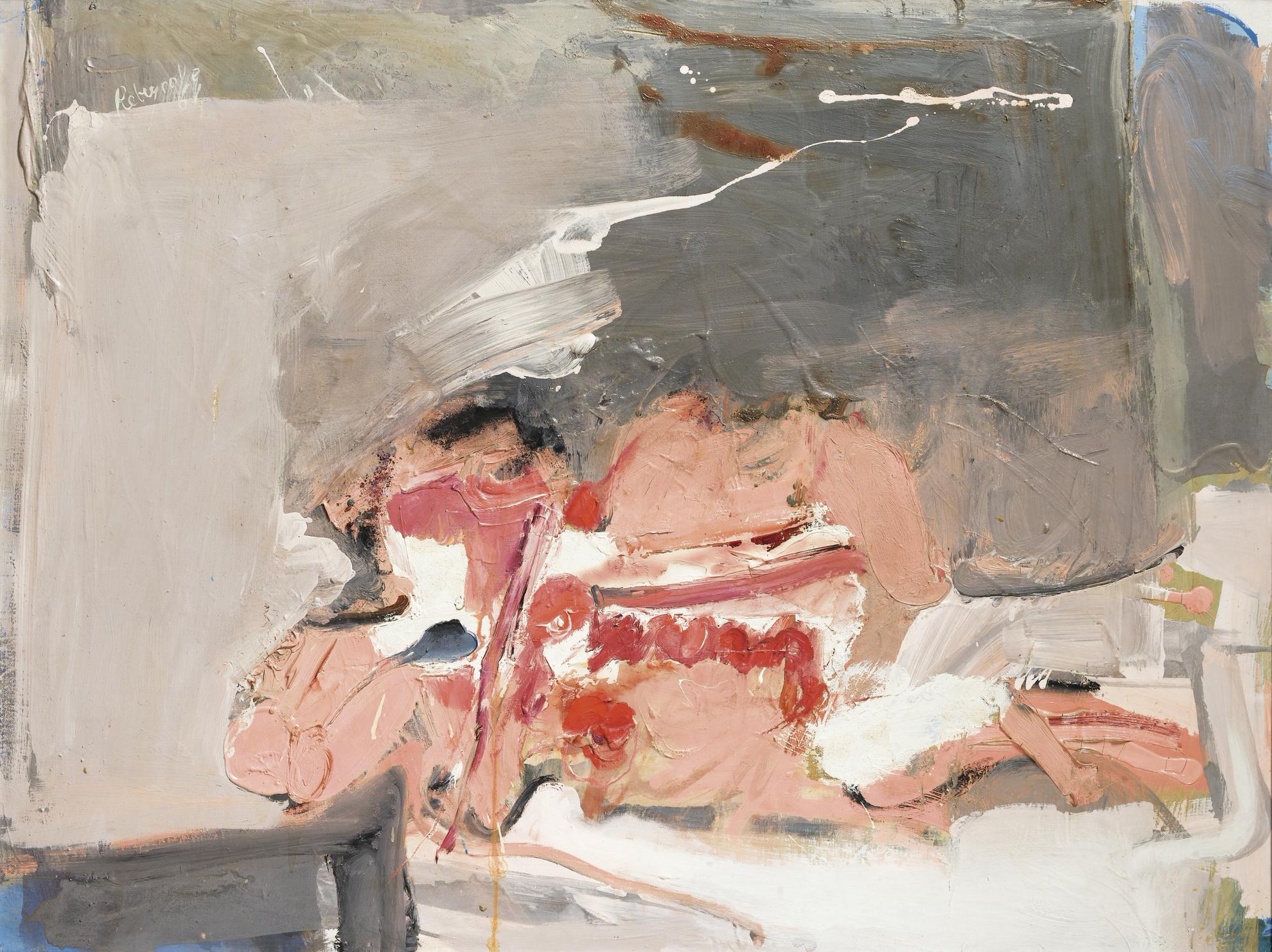 Paul Rebeyrolle - Couple-1961