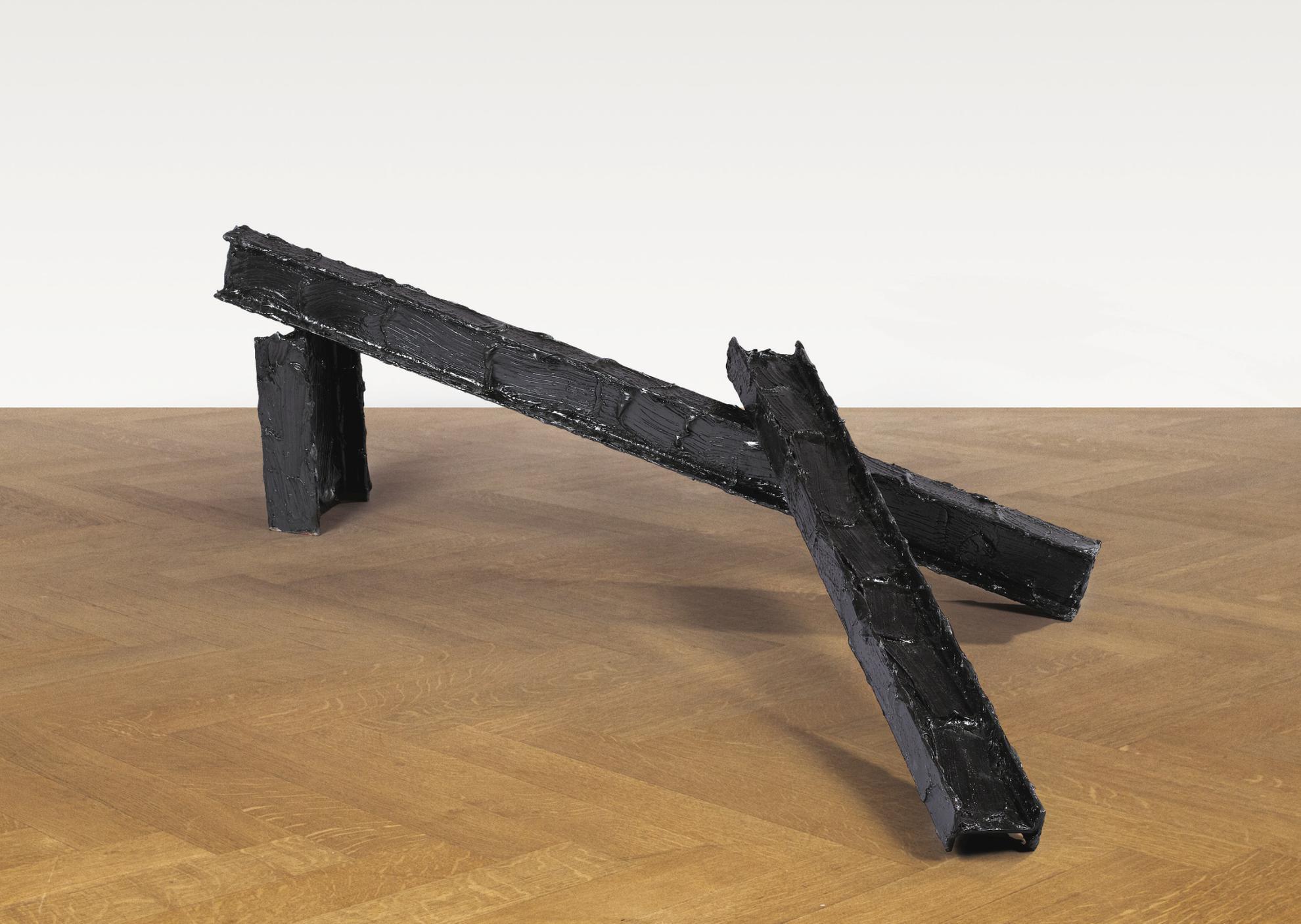 Bertrand Lavier-Peinture Noire No.2-1984