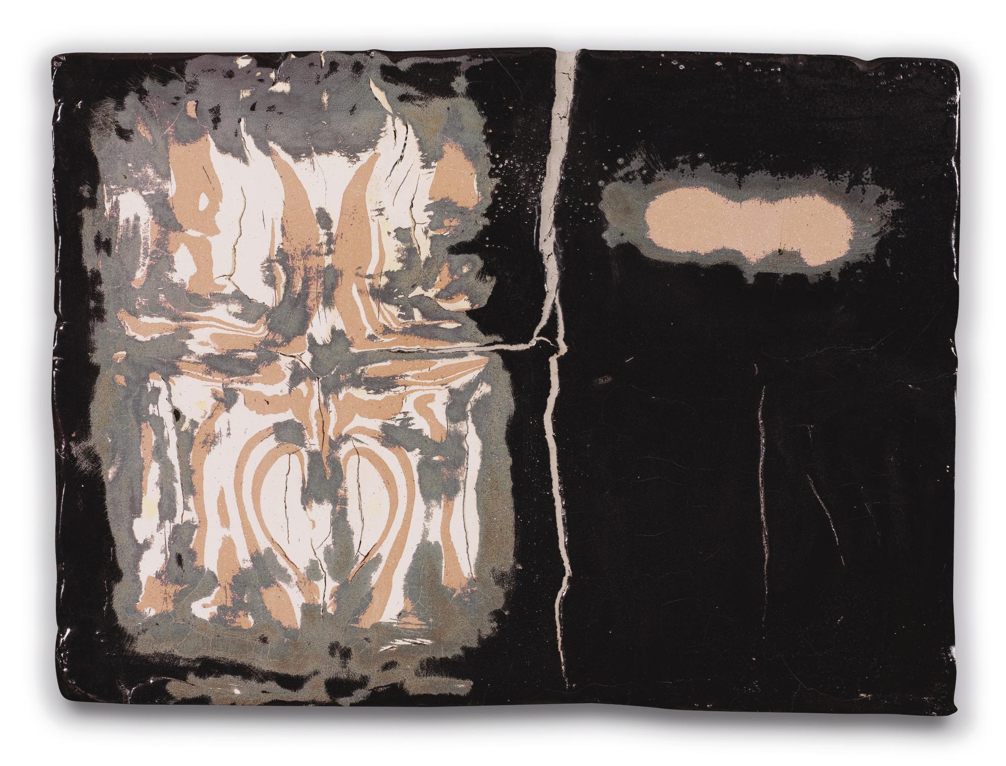 Johan Creten-Burka (Alfred Painting 21)-2013