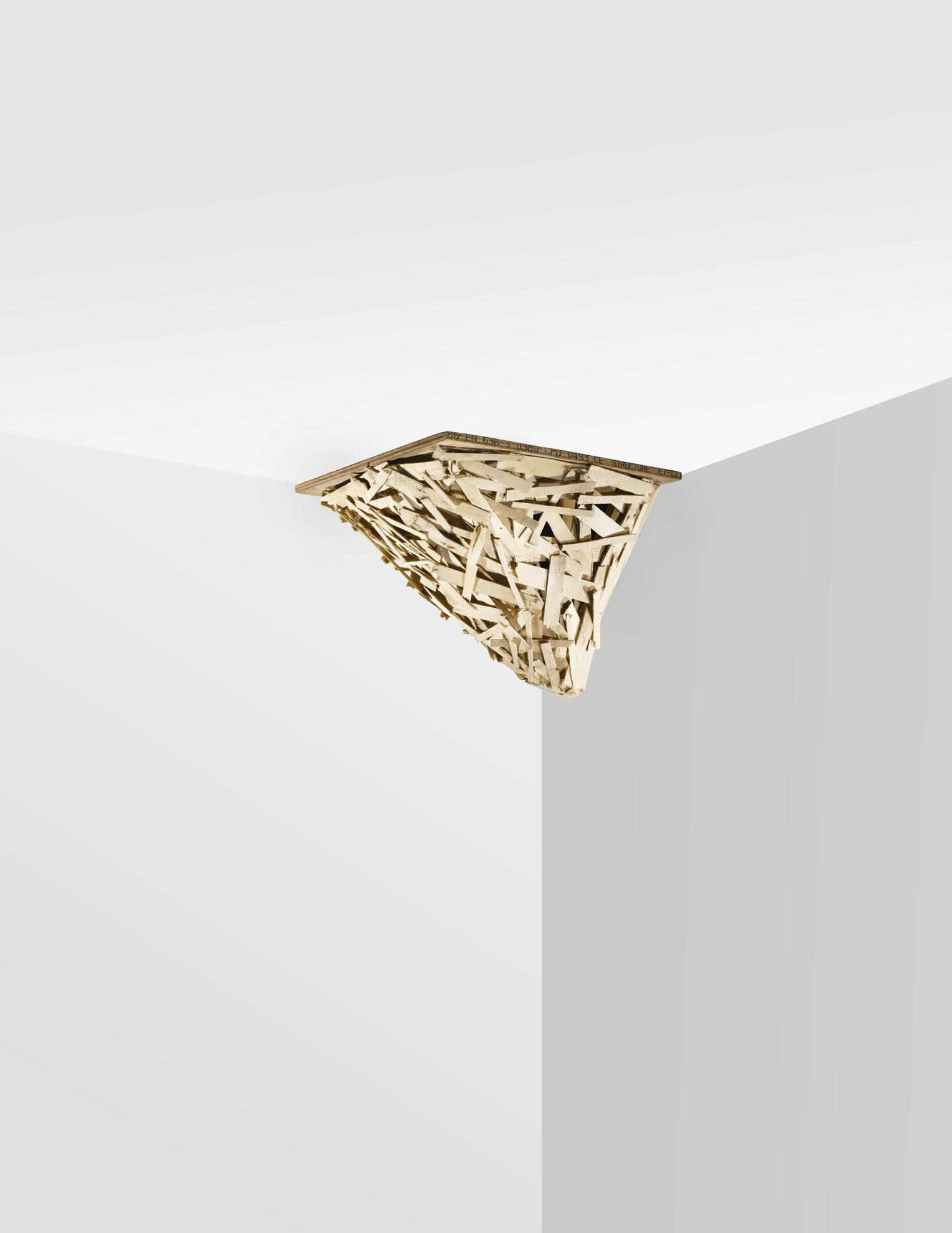 Tadashi Kawamata-Corner Piece No. 43-2015