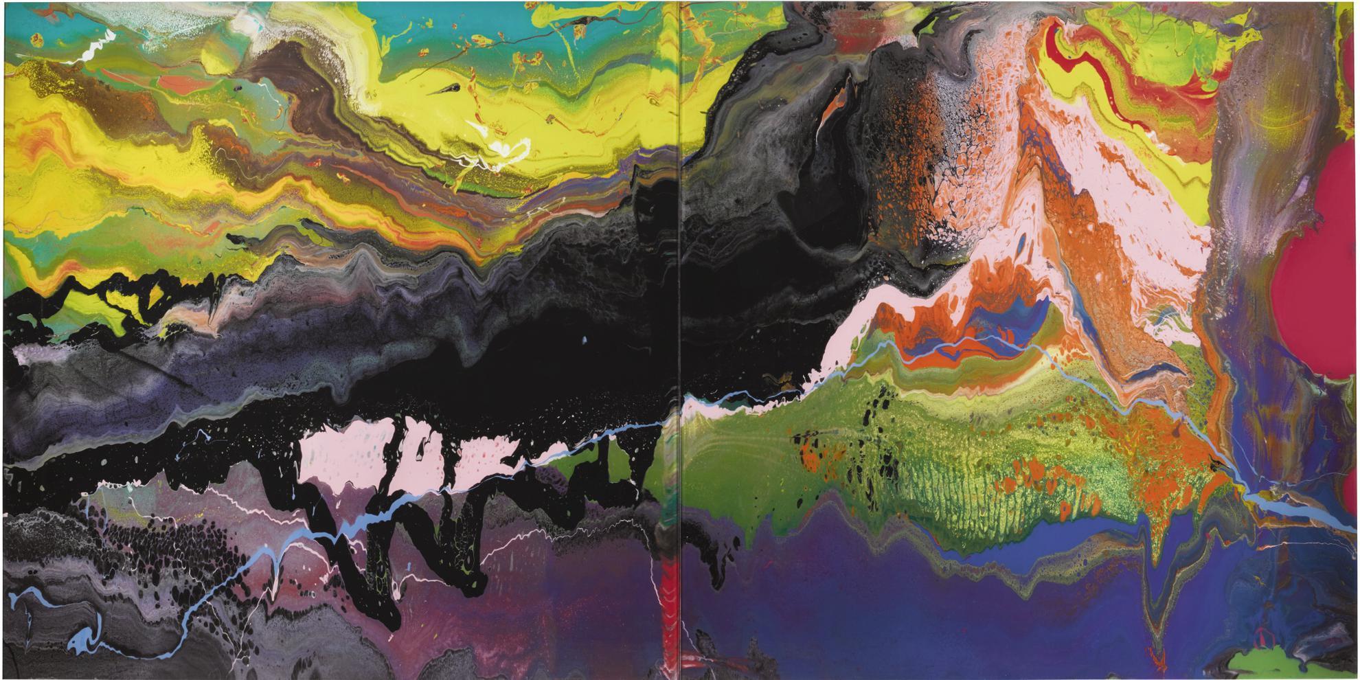 Gerhard Richter-Plow (P16)-2016