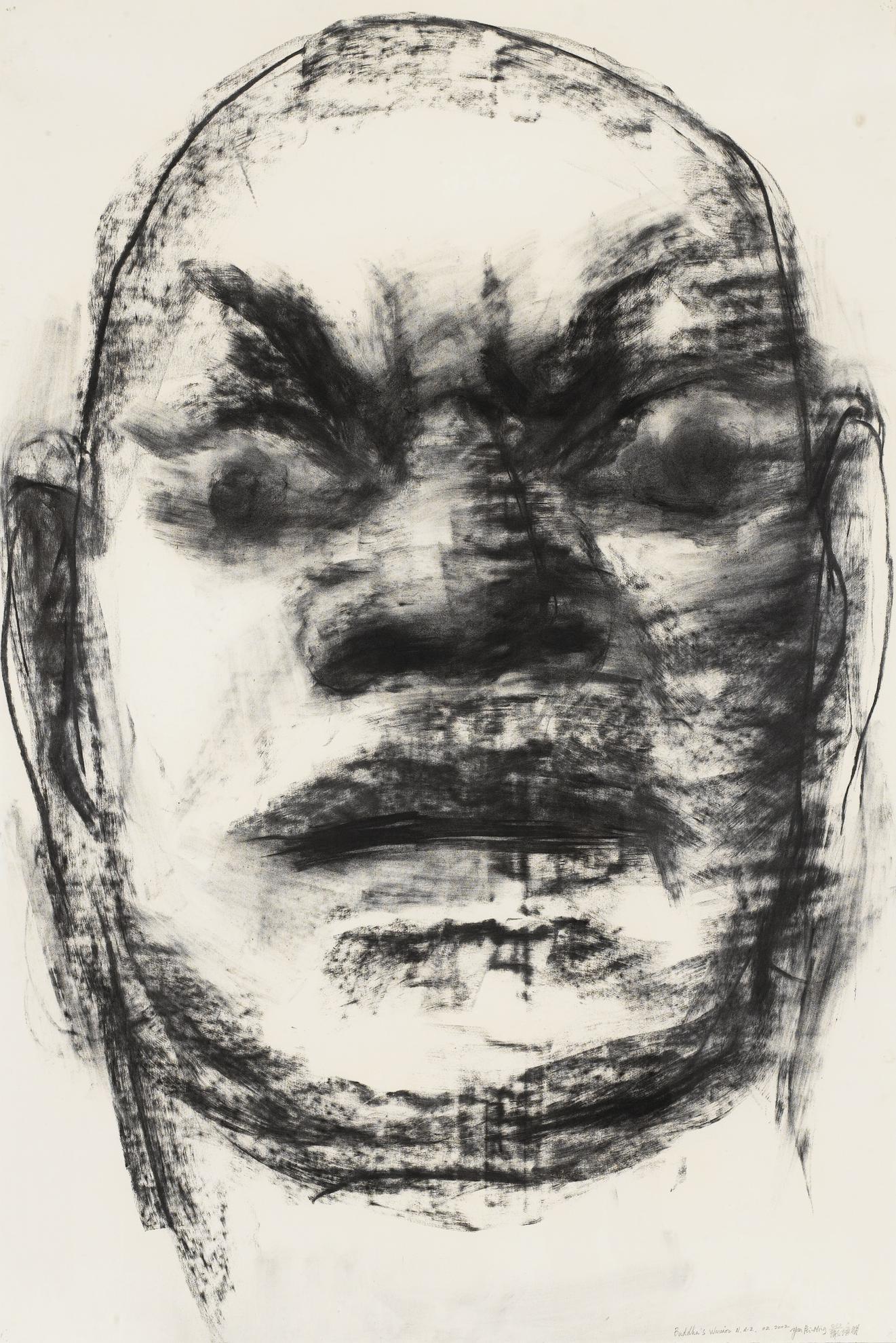 Yan Pei-Ming-Buddhas Warrior N.D.-2-2002