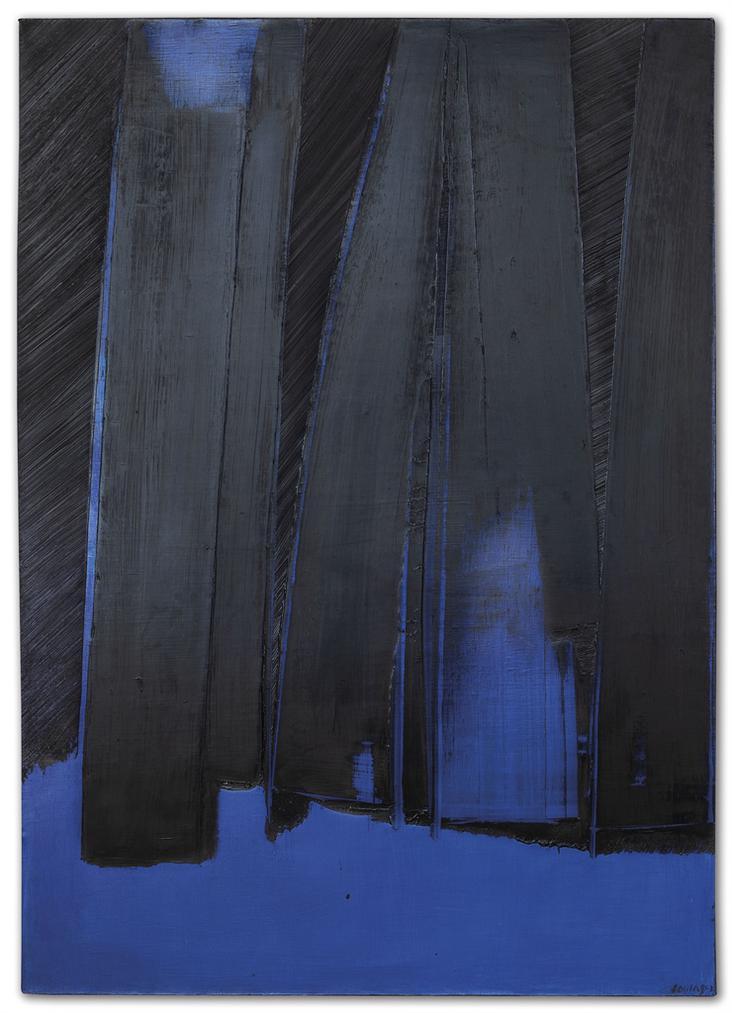 Pierre Soulages-Peinture 130 X 92 Cm, 30 Avril 1981-1981