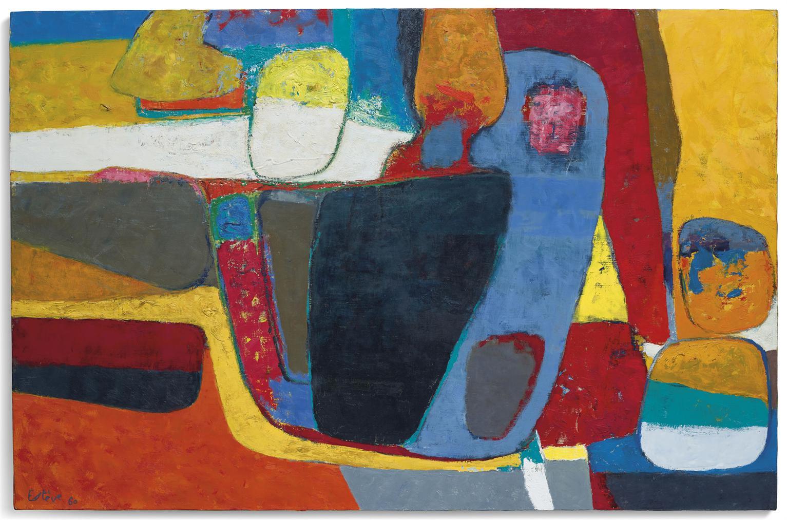 Maurice Esteve-Le Boischaut-1960