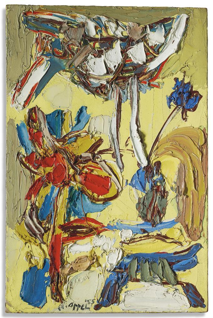 Karel Appel-Le Printemps-1955