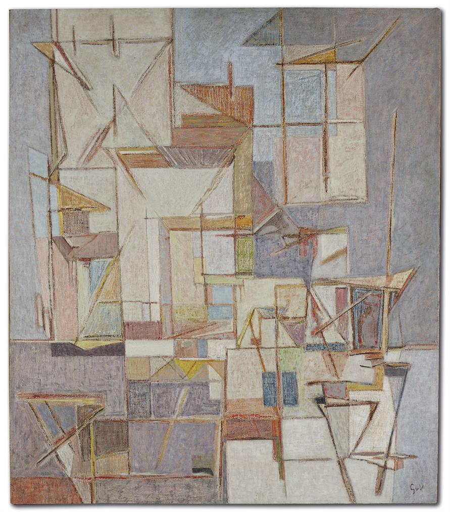 Geer Van Velde-Composition-1949