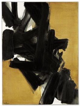 Pierre Soulages-Peinture 130 X 97 Cm, 27 Aout 1963-1963