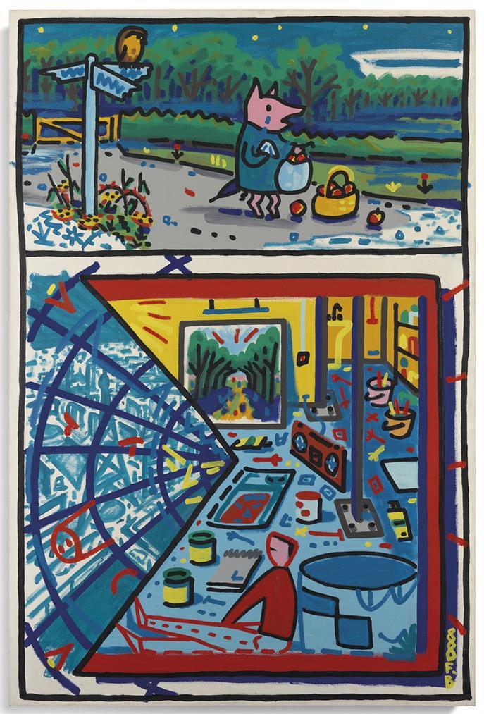 Francois Boisrond-Une Sombre Histoire De Pommes-1988