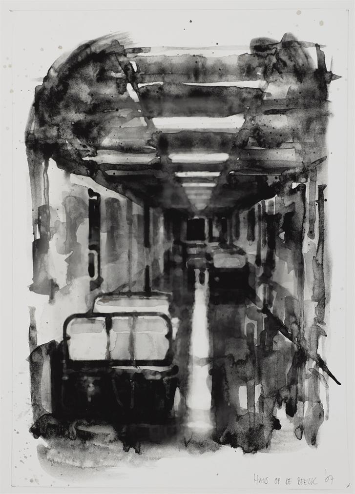 Hans Op De Beek - Hospital Corridor-2007
