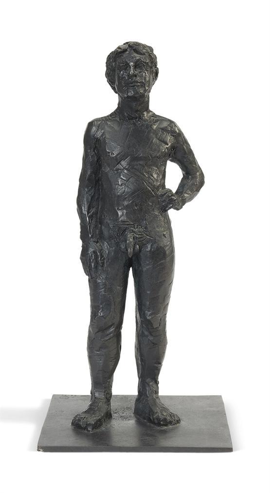 Stephan Balkenhol-Stehender Nackter Mann-1999