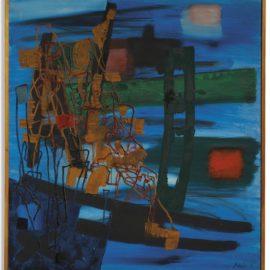 Fritz Winter-Kommende Unruhe-1957