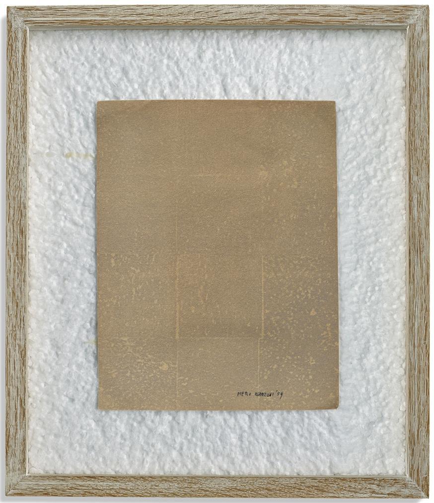 Piero Manzoni-Impronta Sughero-1959