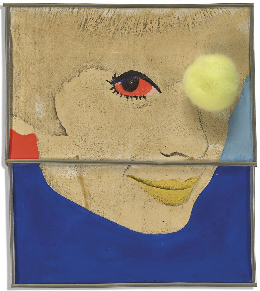 Martial Raysse-Portrait Aux Trois Quarts-1963