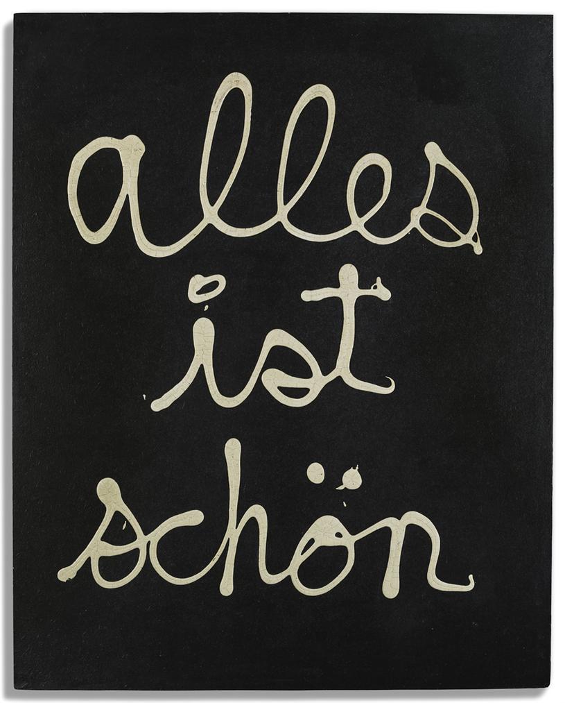 Ben Vautier-Alles Ist Schon-1972