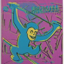 Andy Warhol-Monkey-1983