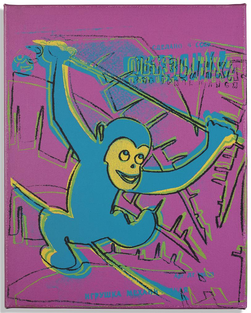 Andy Warhol-Monkey-1983