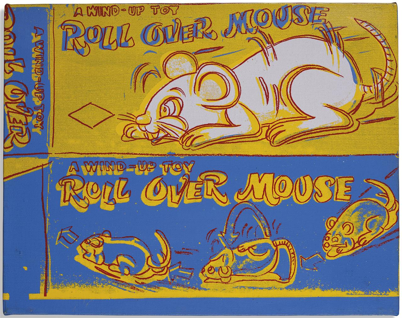 Andy Warhol-Roll Over Mouse-1983
