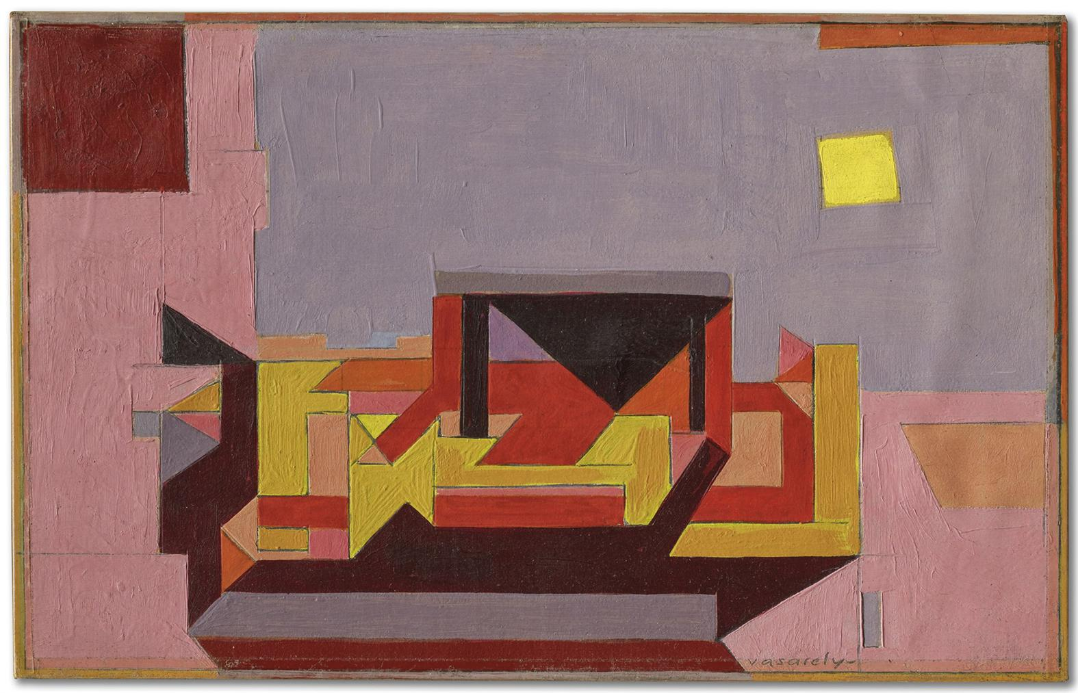 Victor Vasarely-Ispahan-1949