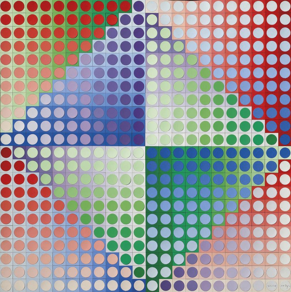 Victor Vasarely-Pal Zett-1969