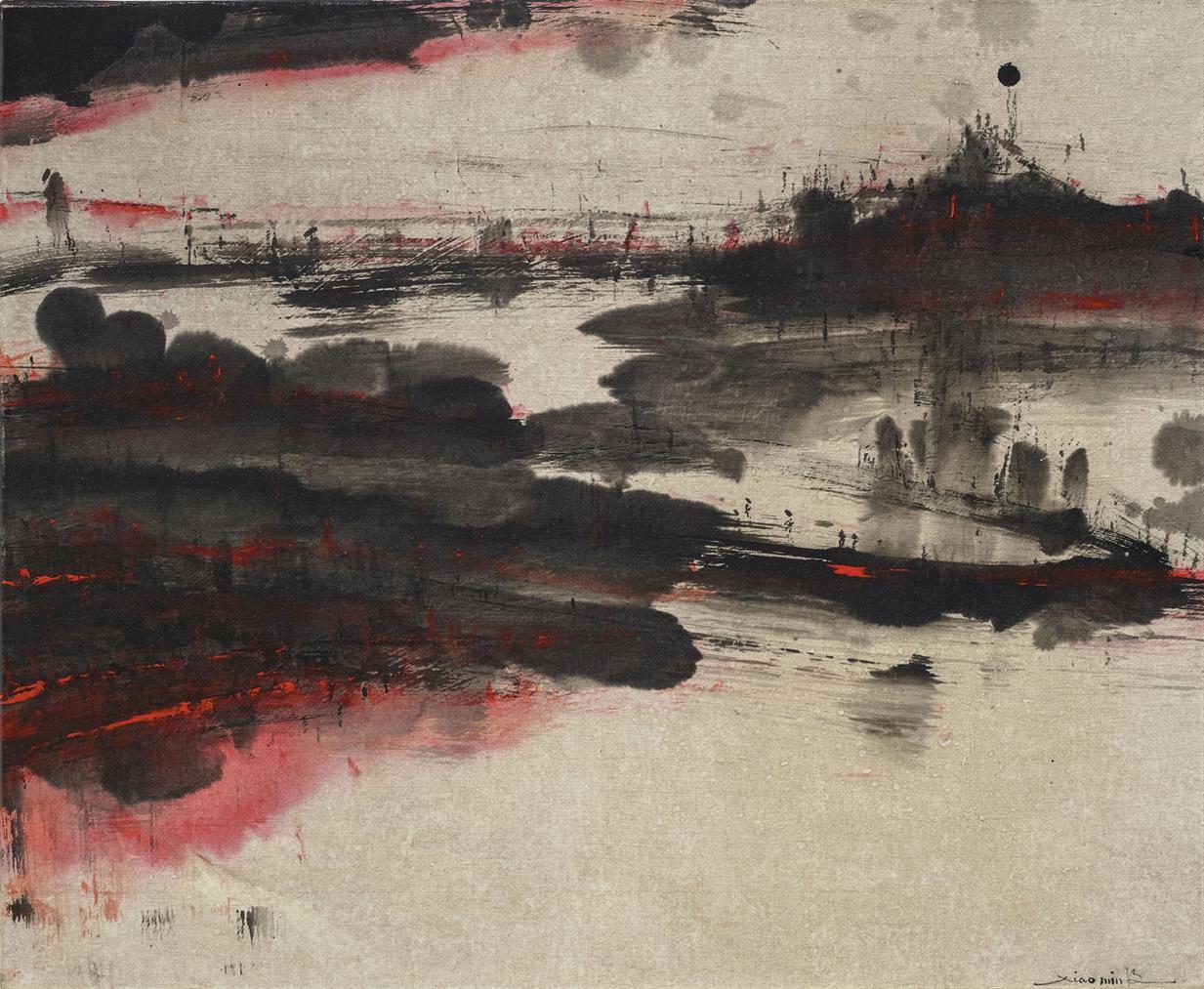 Xiao-Min Feng - Composition No.01-08-03-2003