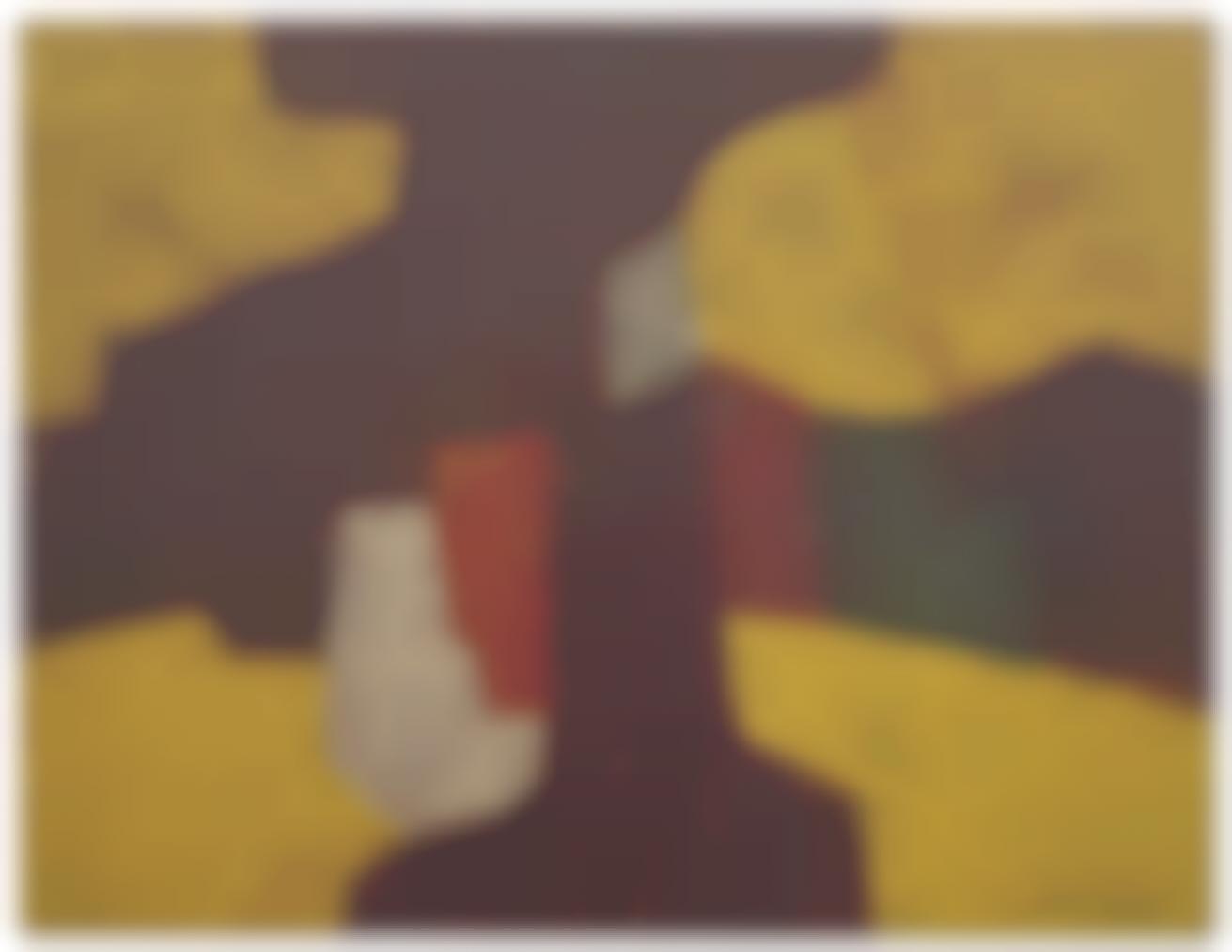 Serge Poliakoff-Composition Abstraite-1957