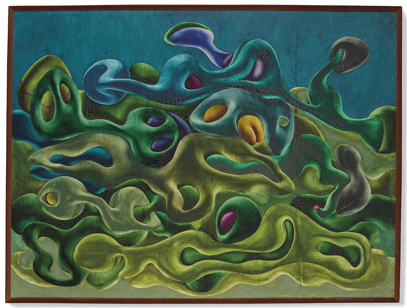 Simon Hantai-Peinture-1953