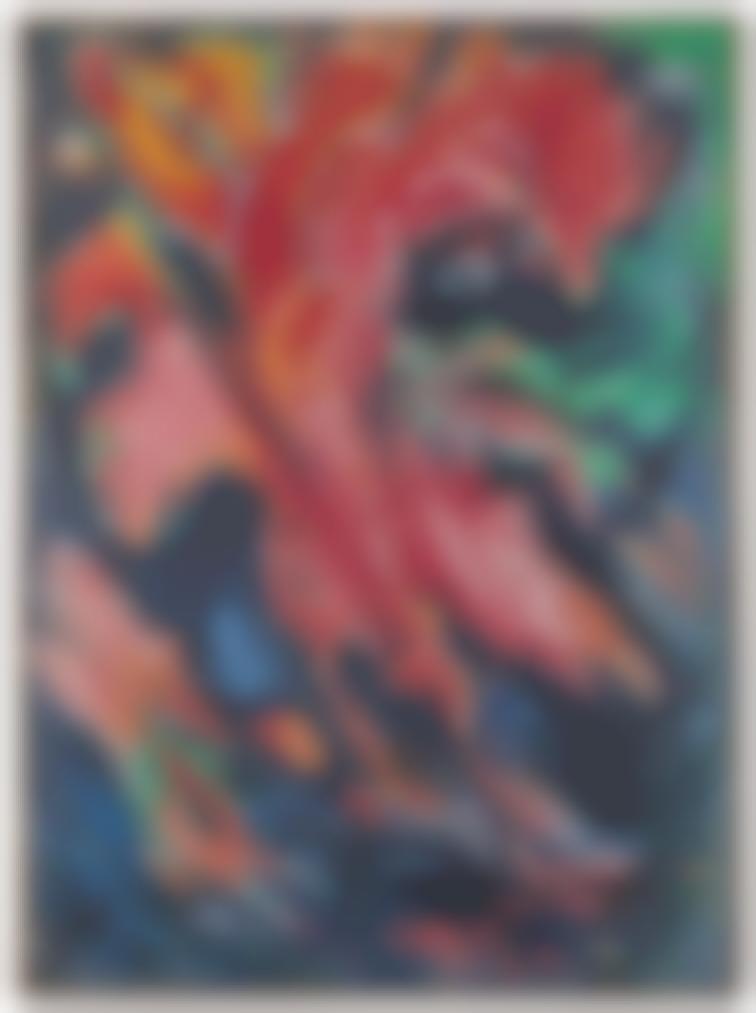 Edouard Pignon-Le Bouquet De Pieds (Plongeurs Rouges)-1966