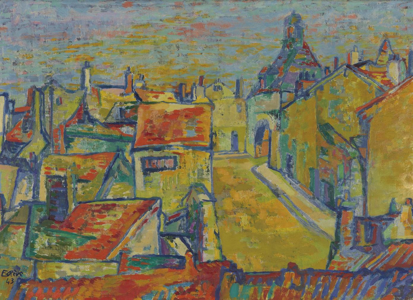 Maurice Esteve-Tournan-En-Brie-1943