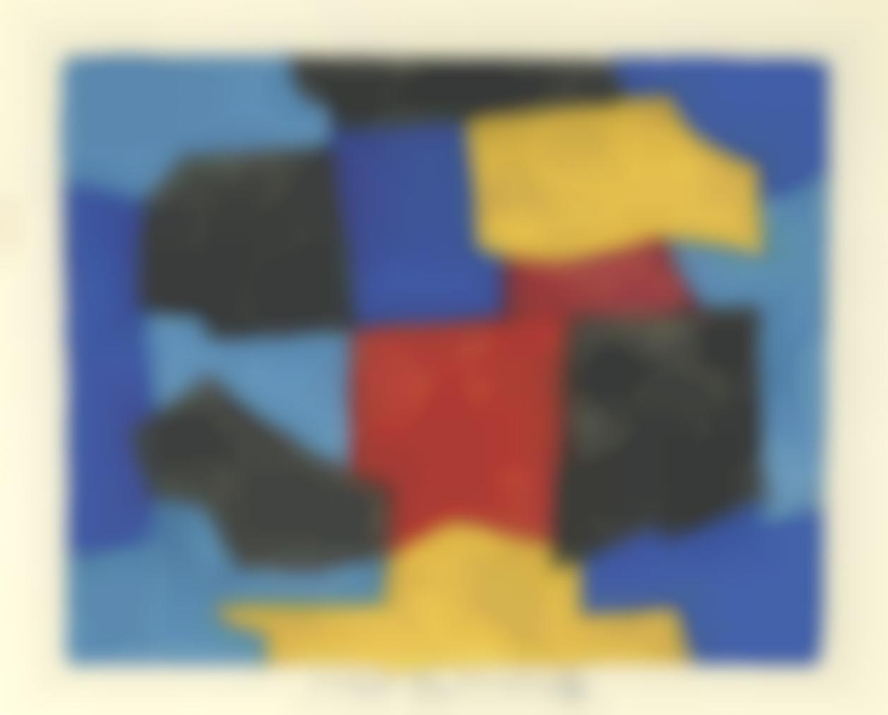 Serge Poliakoff-Sans Titre-1969