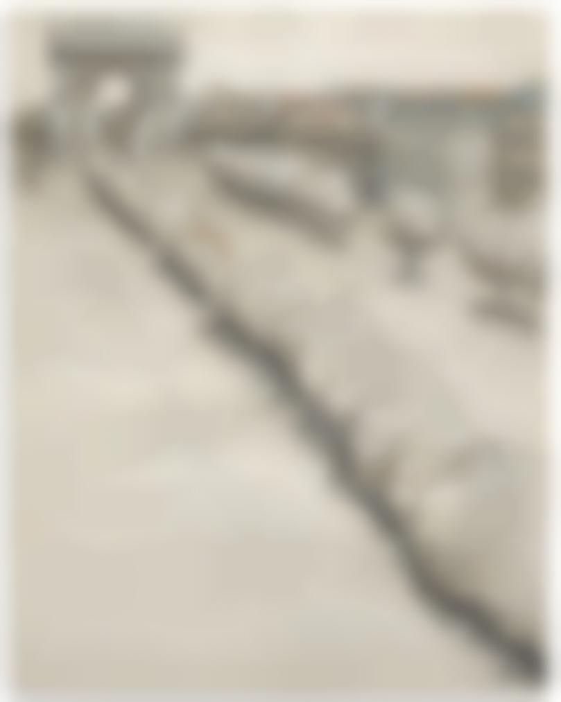 Christo and Jeanne-Claude-Wrapped Trees / Projet Pour Lavenue Des Champs Elysees Et Le Rond Point Des Champs Elysees-1969