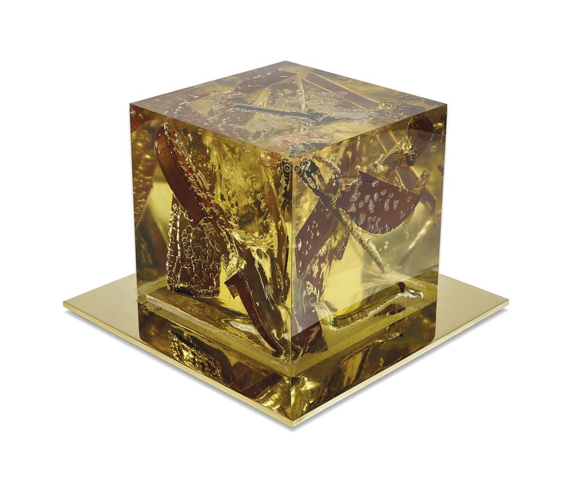 Arman-Colere En Cube-1971