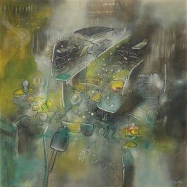 Roberto Matta-Sans Titre-1969