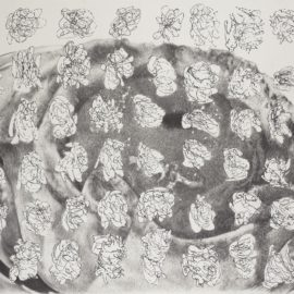 Jim Shaw-Ost Student Drawing (Apple Pastry)-2007