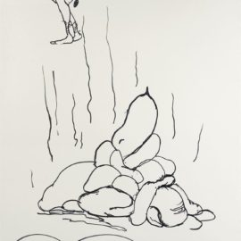 Paul McCarthy-Sans Titre (Shit Drawing)-1992