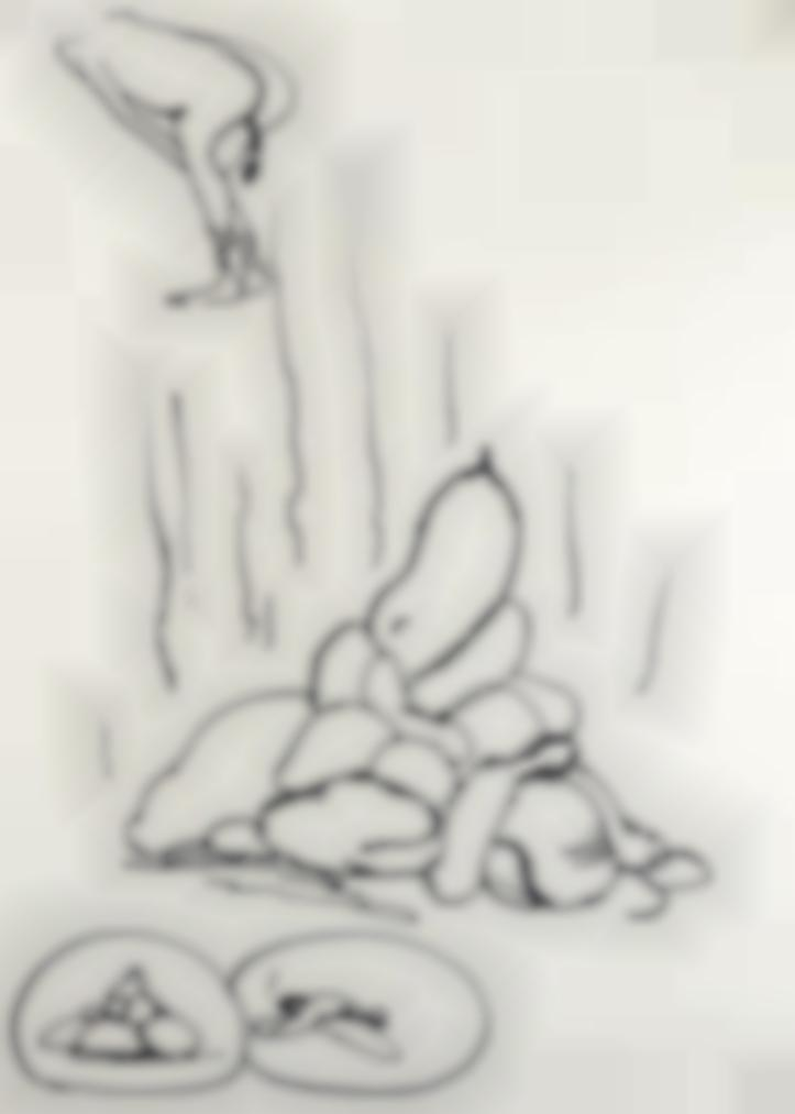 Paul McCarthy-Sans Titre (Shit Drawing)-1992