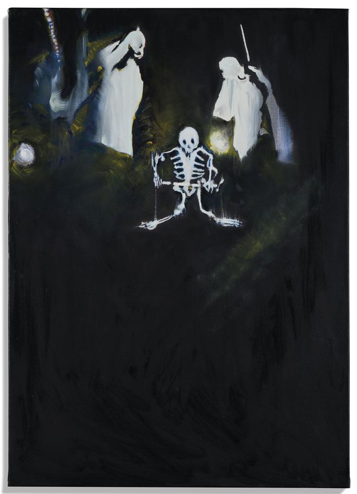 Bruno Perramant - Deux Fantomes Et Un Squelette No. 2-2007