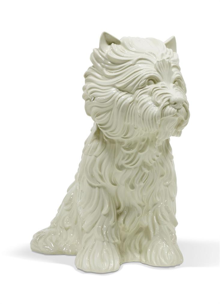 Jeff Koons-Puppy (Vase)-1998