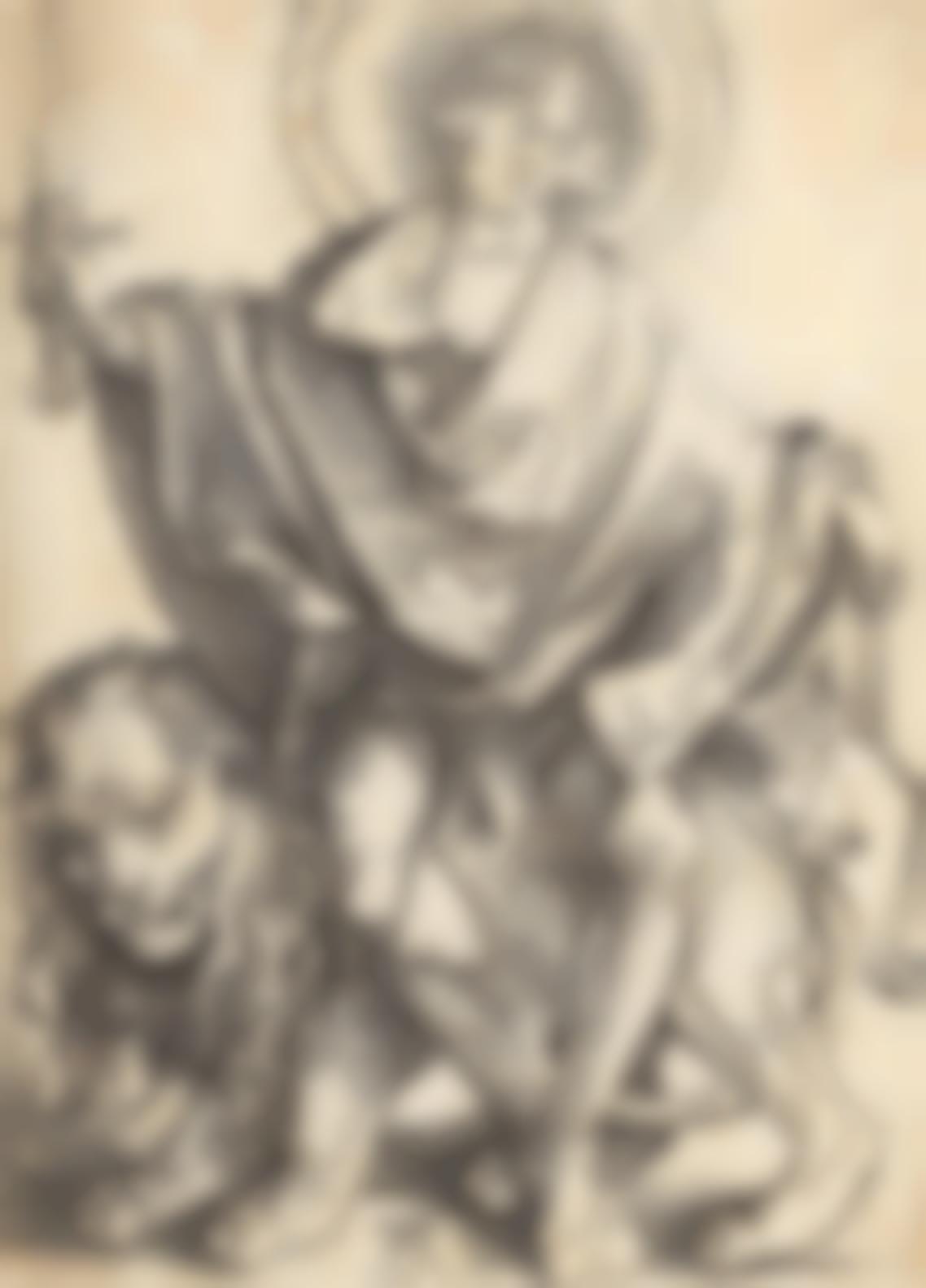 Albrecht Durer-Sol Justitiae - The Judge (Bartsch 79; Meder, Hollstein 73; Schoch, Mende And Scherbaum 23)-1499