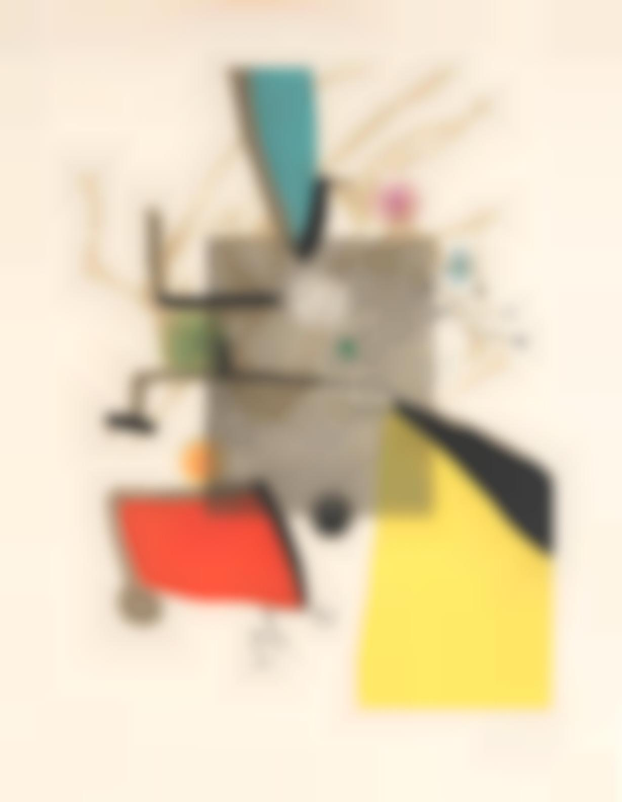 Joan Miro-Llibre Dels Sis Sentis (Dupin 1165-1170; Cramer Books 252)-1981