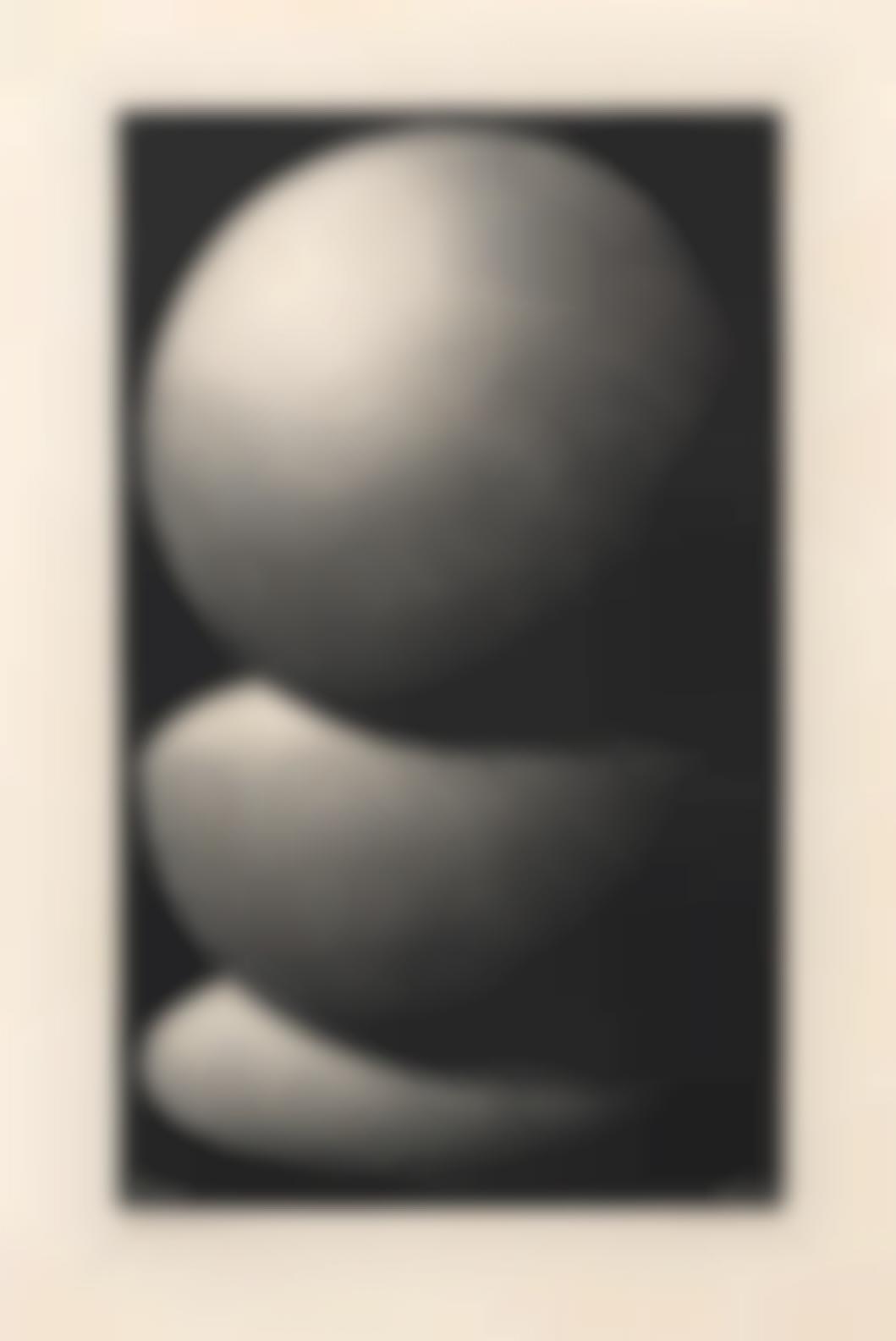 Maurits Cornelis Escher-Three Spheres I (Bool336)-1945