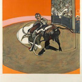 Francis Bacon-Etude Pour Une Corrida (Sabatier 10)-1971