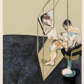 Francis Bacon-Trois Etudes De Dos Dhomme (The Right Hand Panel) (Sabatier 21)-1987