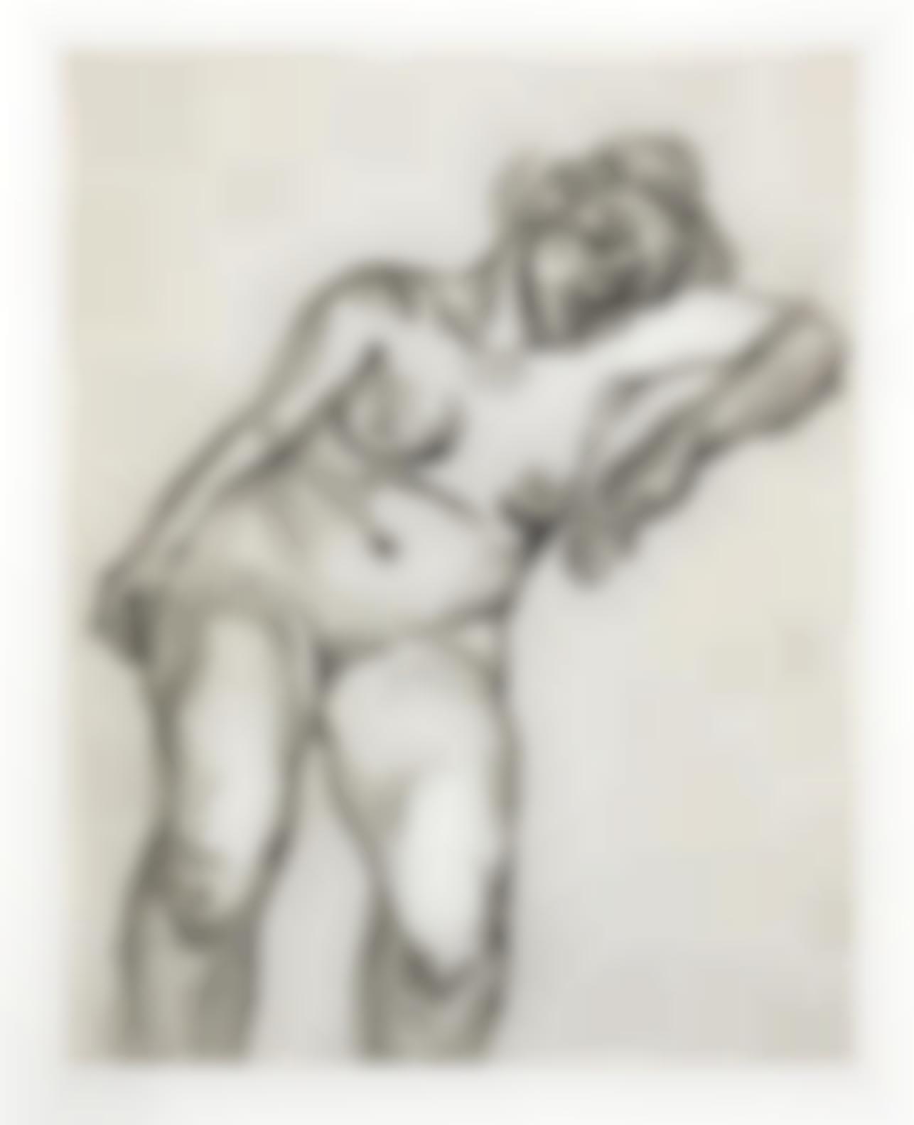 Lucian Freud-Blond Girl (Hartley24; Figura 33)-1985
