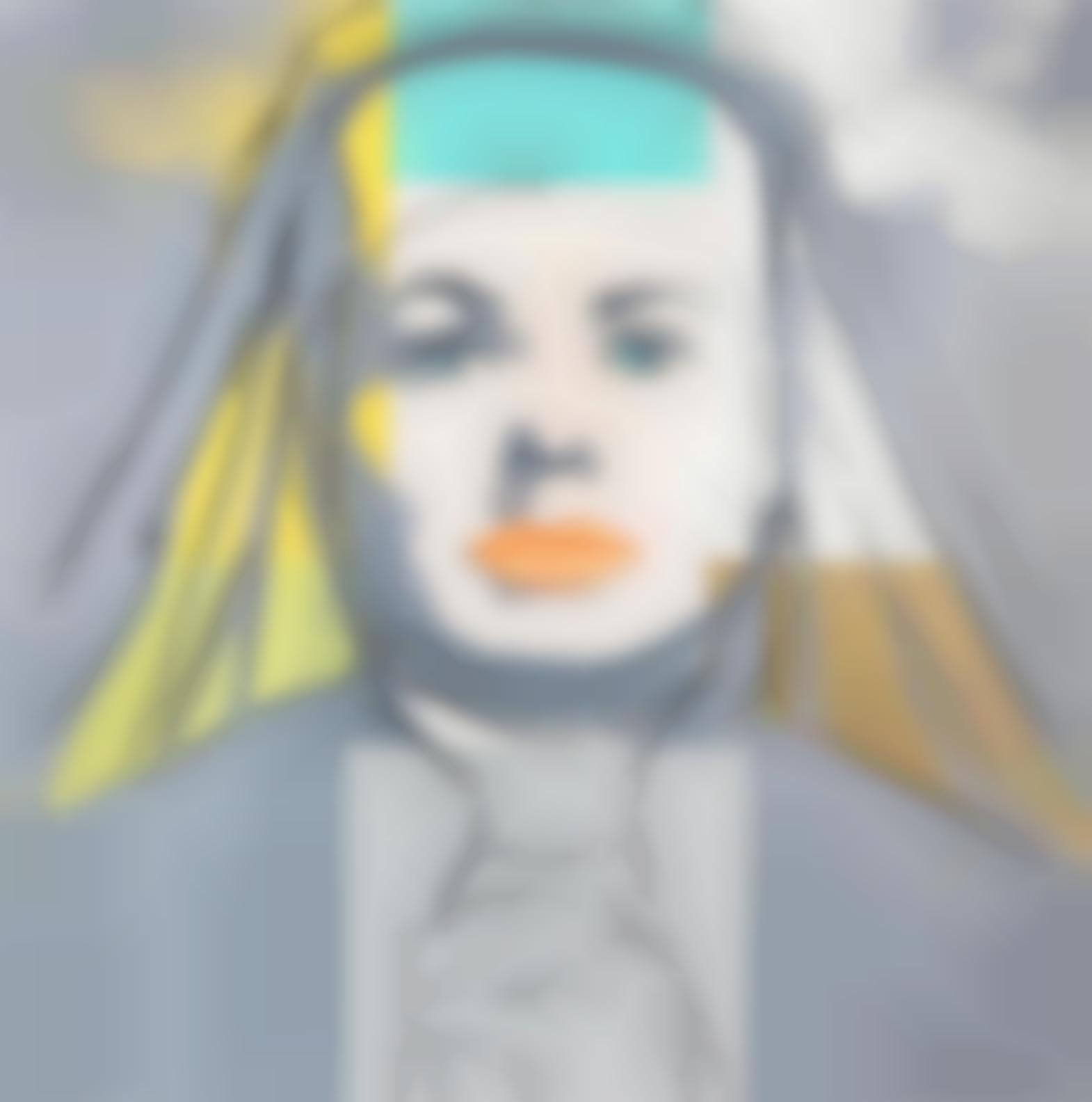 Andy Warhol-The Nun, From Ingrid Bergman (Feldman & Schellmann IIb.314)-1983