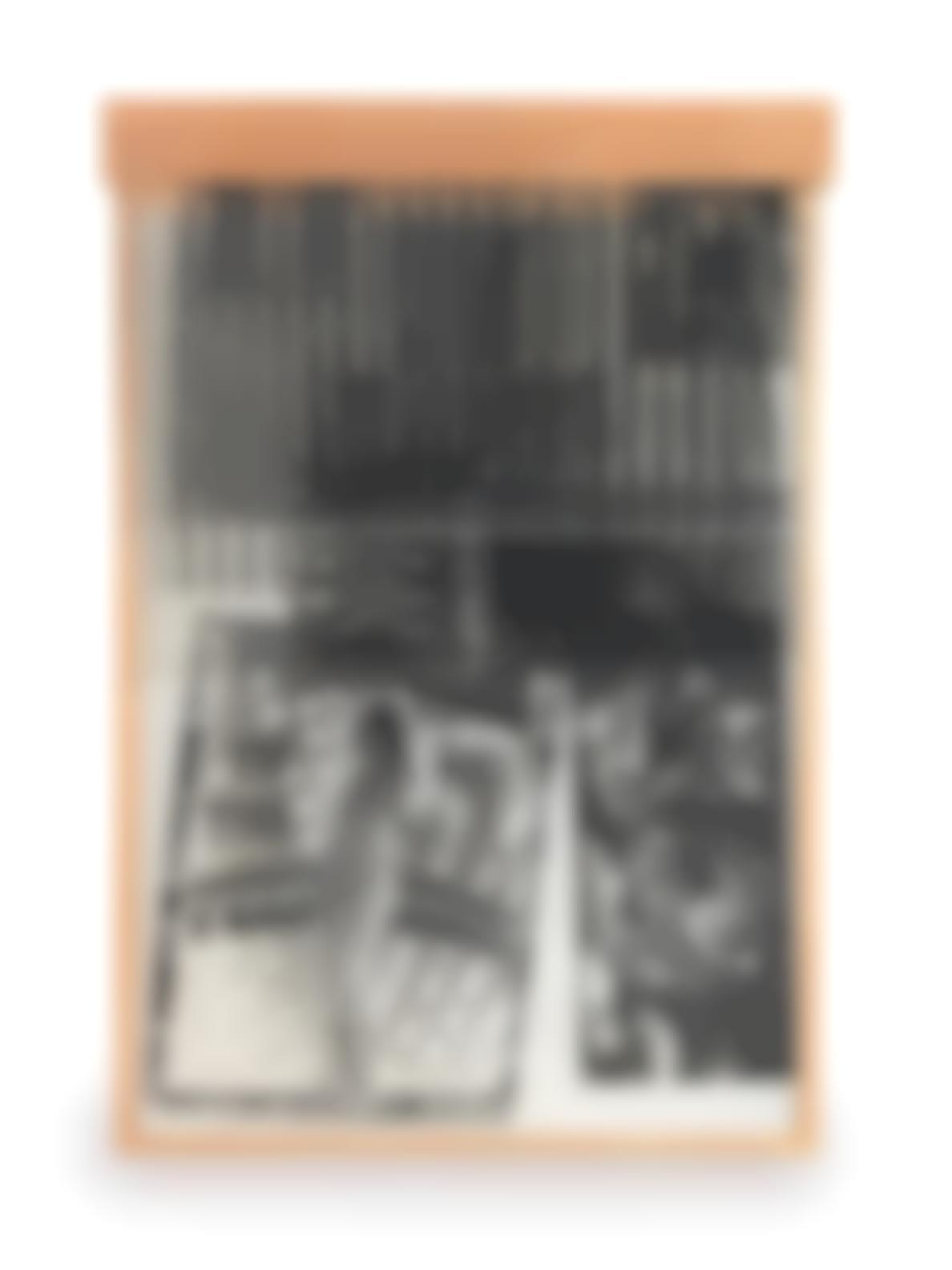 Robert Rauschenberg-Sling-Shots Lit #8, Black State (Gemini 41.165)-1985