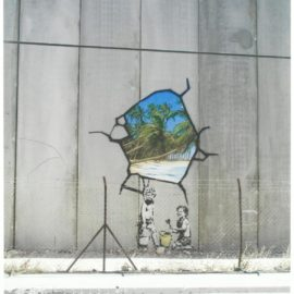 Banksy-Palestine Photo (Boy With Spade)-2006