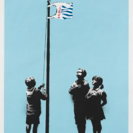 Banksy-Very Little Helps-2008