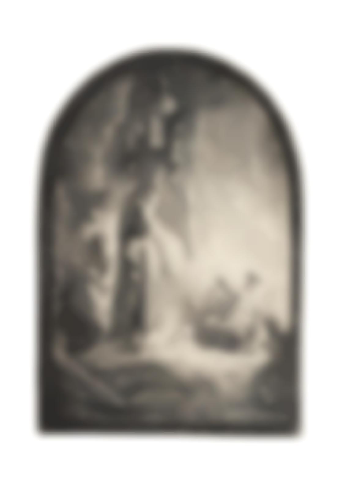 Rembrandt van Rijn-The Raising Of Lazarus: The Larger Plate (Bartsch 73; New Hollstein 113)-1632