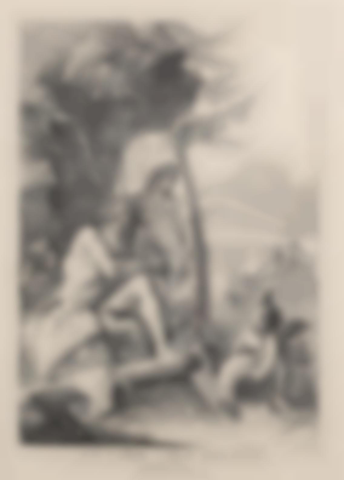 Giovanni Domenico Tiepolo-River Gods (De Vesme 99; Rizzi 124)-1730