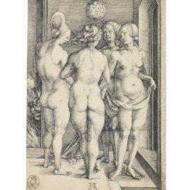 Albrecht Durer-Four Naked Women (Bartsch 75; Meder, Hollstein 69; Schoch, Mende And Scherbaum 17)-1497